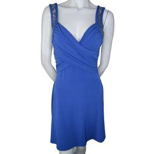 Guess Wrap Top Studded Strap Dress Size 4